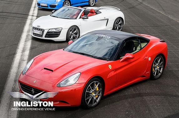 Junior supercar driving experience, Ingliston