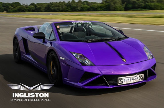 Junior supercar driving experience, Ingliston