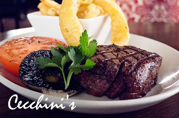 Pizza, pasta or steaks at Cecchini's, Ayr & Ardrossan - from £5pp