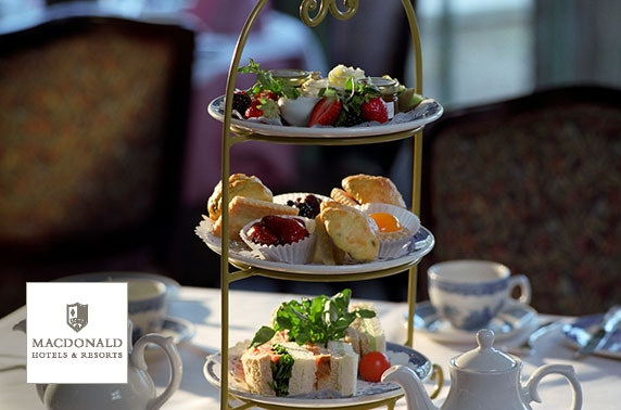 4* Macdonald Linden Hall afternoon tea