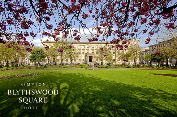 5* Blythswood Square Hotel festive afternoon tea