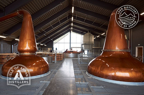Isle of Arran Distillers tour & tasting
