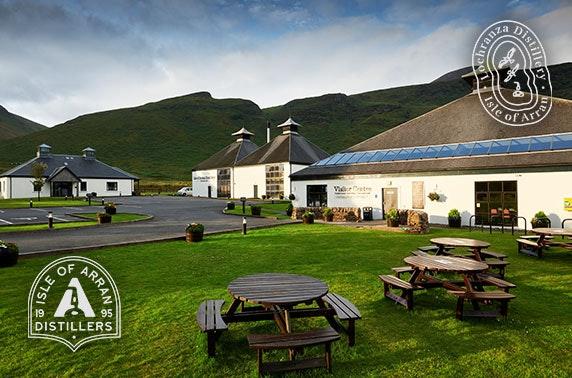 Isle of Arran Distillers tour & tasting