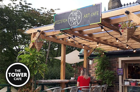 The Tower Cafe dining and drinks - valid 7 days!