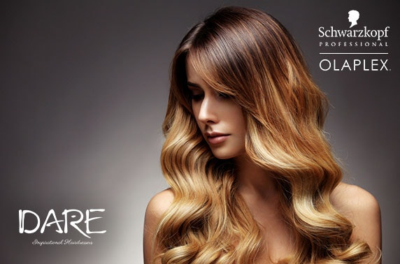 Dare Inspirational Hairdressing treatments