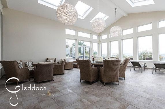Award-winning 4* Gleddoch Hotel spa treatments