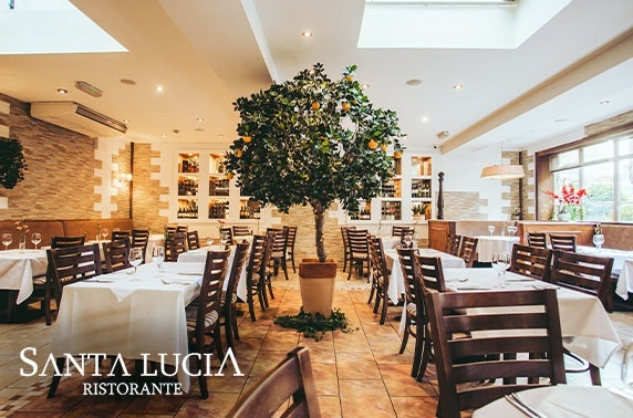 Award-winning Santa Lucia, Byres Road