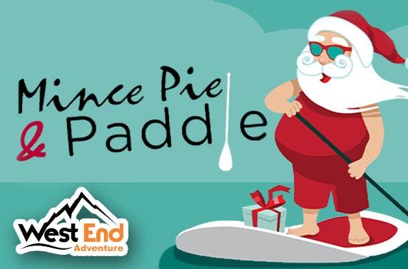 West End Adventure's Mince Pie Paddle