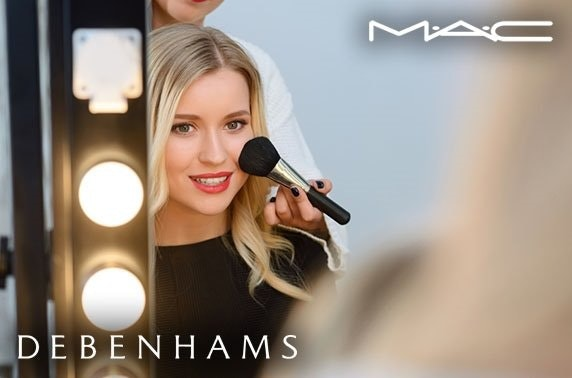 Mac makeup masterclass, Debenhams