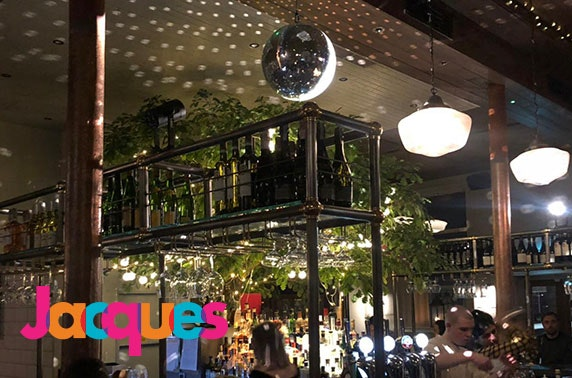 New Year's Eve at Jacques, Finnieston