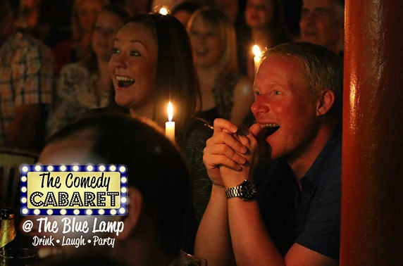 The Comedy Cabaret tickets – from £6.50pp!