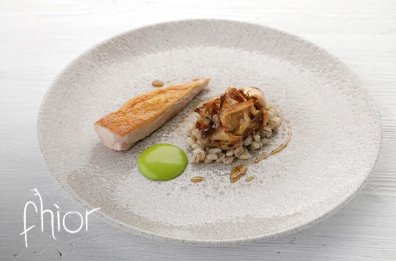 Michelin recommended Fhior Restaurant tasting menu