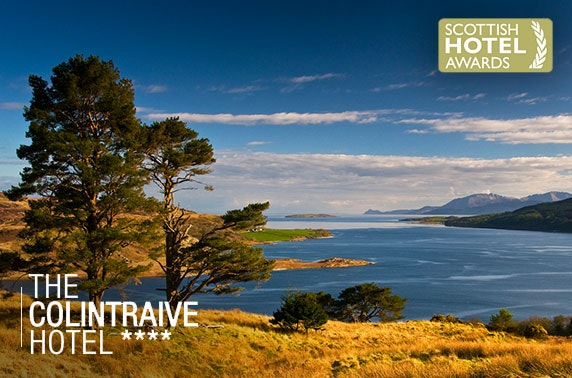 Idyllic escape on the beautiful Cowal Peninsula
