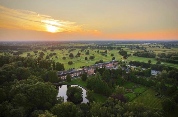 4* Mottram Hall Hotel round of golf - valid 7 days!