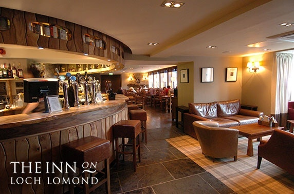 The Inn on Loch Lomond dining - valid 7 days!