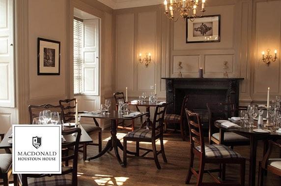 Lunch with Santa, 4* Macdonald Houstoun House Hotel