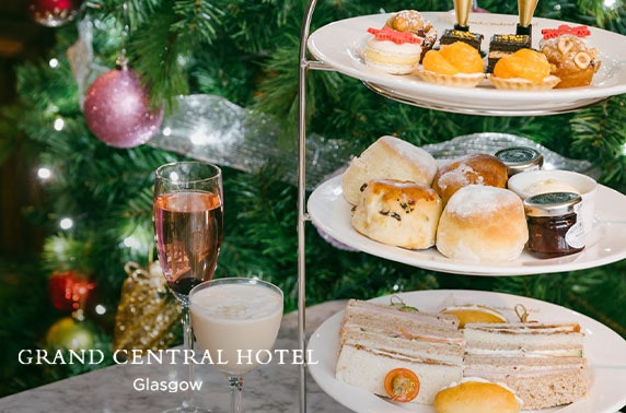 4* Grand Central festive afternoon tea