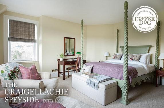 The Craigellachie Hotel stay, Speyside