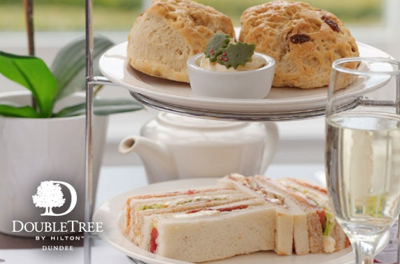 Festive afternoon tea, DoubleTree by Hilton Dundee