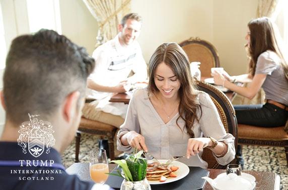 5* award-winning luxury Trump MacLeod House dining