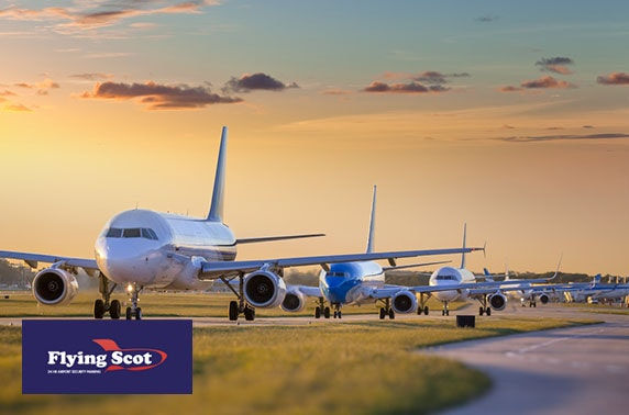 Edinburgh Airport parking – from £2.43 per night