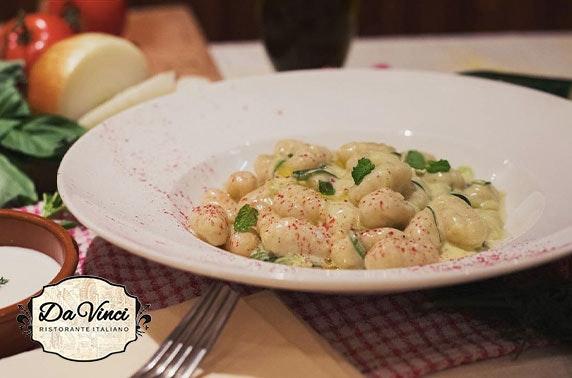 Da Vinci Italian dining, City Centre