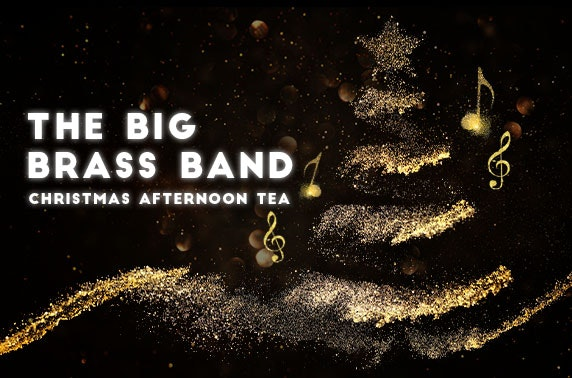 Big Brass Band Christmas afternoon tea at 4* Macdonald Pittodrie House