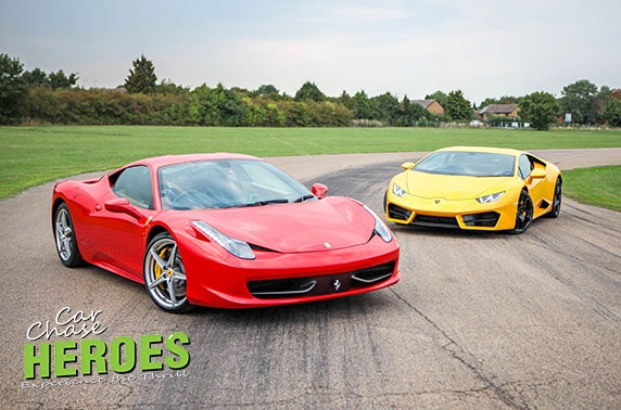 Supercar driving experience, Three Sisters Circuit