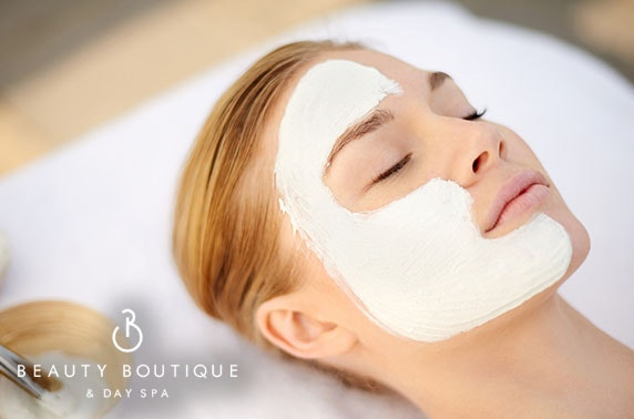 Spa day with massage & facial, City Centre
