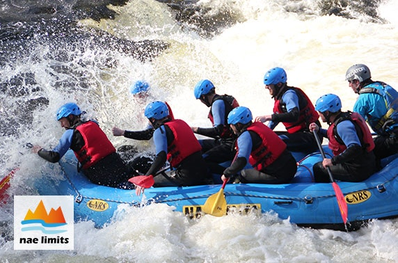 White water rafting, River Tay