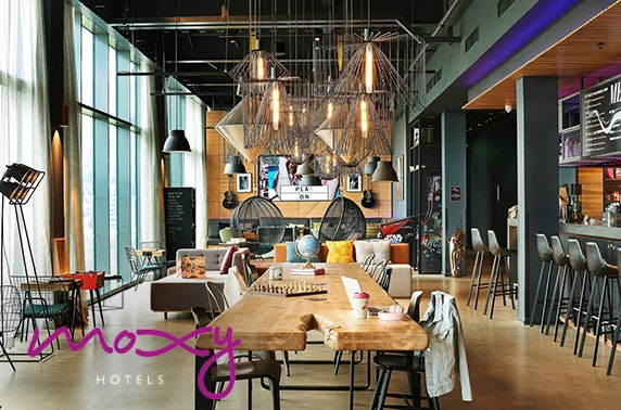 4* Moxy Edinburgh Airport stay