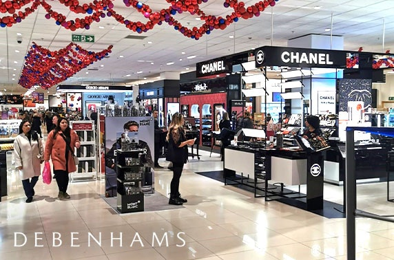 VIP beauty event at Debenhams, Silverburn