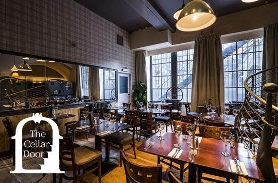 6 course tasting menu at The Cellar Door, Old Town