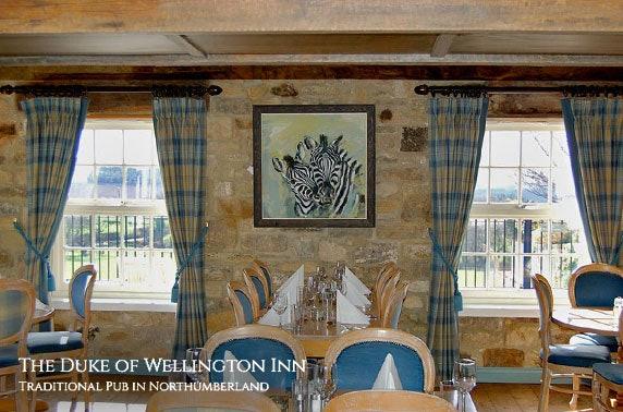 5* Duke of Wellington Inn stay - £69