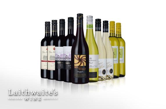 Cases of wine - £4.50 per bottle