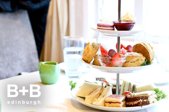 Afternoon tea at B+B, West End
