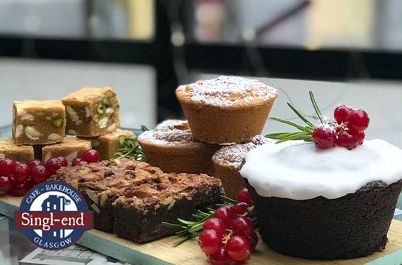 Singl-end Christmas patisserie box