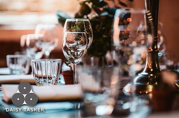 2 AA Rosette festive dining, Daisy Tasker