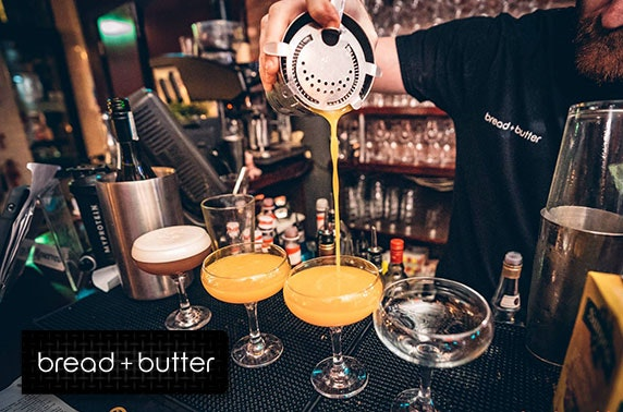 Bread + Butter festive cocktails - £6pp
