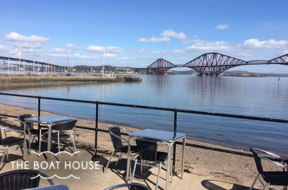 The Boat House, South Queensferry dining