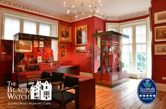 5* The Black Watch Castle & Museum tour and afternoon tea