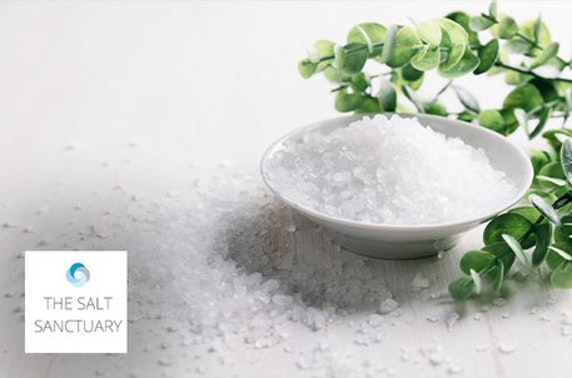Salt therapy with optional reiki