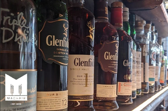 Machair whisky or gin flights