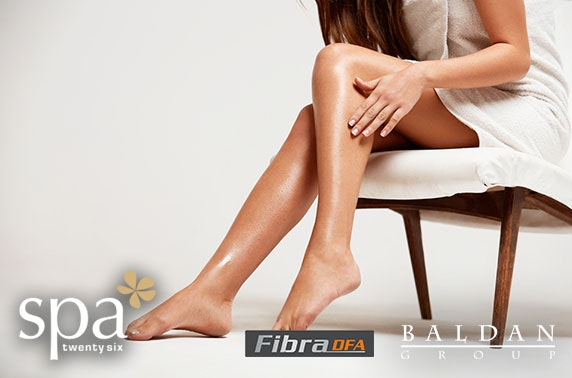 Laser hair removal at Spa Twenty Six, Southside
