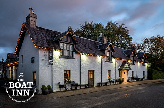 Boat Inn stay, Aboyne - valid 7 days