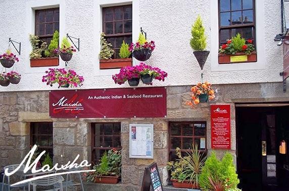 Award-winning Maisha Indian dining, St Andrews