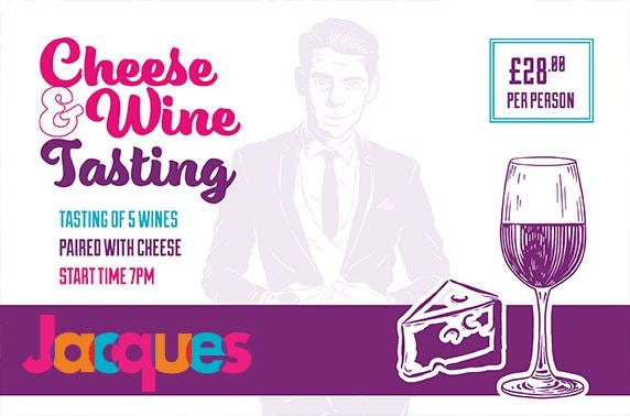 Jacques, cheese & wine night