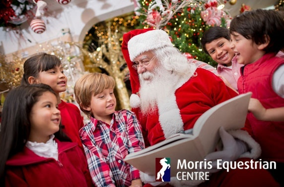 Breakfast with Santa at Morris Equestrian Centre
