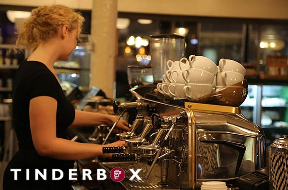Tinderbox coffees and reusable rCup