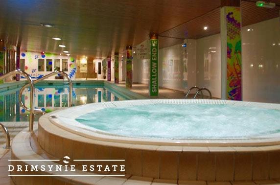 Award-winning Drimsynie Estate Hotel getaway